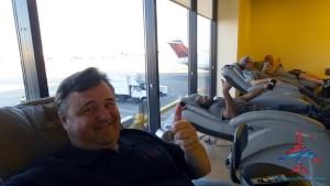 at the xpresspa under the a center delta skyclub atl atlanta airport