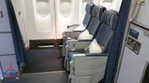 Delta Air Line 747 Delta One business class seat flight review NRT Japan to DTW Detroit RenesPoints blog (10)